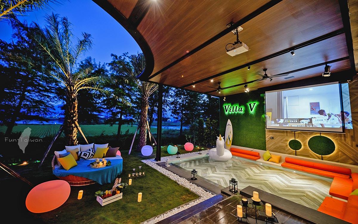 頂級享受民宿「Villa V宜蘭頂級會館」環境照片