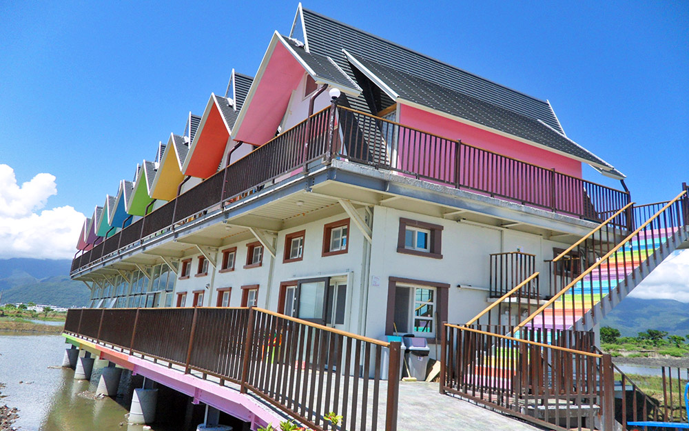 風格特色民宿「天空島上的小木屋」環境照片